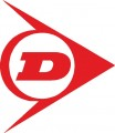 Стикер Dunlop-  logo