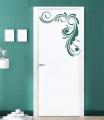 Декоративен стикер - Цветя - Флорален орнамент