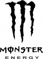 Стикер Monster Energy -2