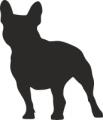 Декоративен стикер - Кучета - 0046