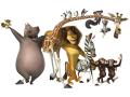 Стикери Мадагаскар 3