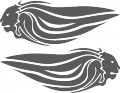 Стикер APRILIA 010