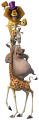 Стикери Мадагаскар 5-