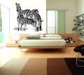 Декоративен стикер -  Животни - Зебри