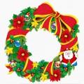 Коледа - коледна играчка-венец