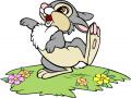 Стикери Бамби - Зайче