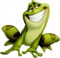 Стикер Принцесата и жабата 5