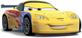 Стикер cars   - Geff Gorvett 55 -