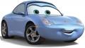 Стикер Cars Sally 1 -