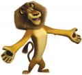 Стикери Мадагаскар - Алекс 6-