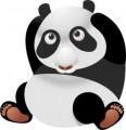 Серия смешни животни - панда