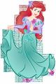 Стикер Малката русалка - Ариел 24-