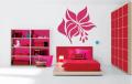 Декоративен стикер -  Цвете - абстрактно 2