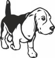 Декоративен стикер - Кучета - 0049