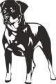 Декоративен стикер - Кучета - 0017