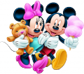 Мики и Мини - Захарен Памук