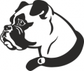 Декоративен стикер - Кучета - 0021