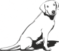 Декоративен стикер - Кучета - 0047