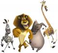 Стикери Мадагаскар 4-