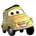 Стикер Cars - Luigi-