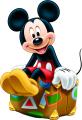 Стикер Мики Маус тръгва на пътешествие