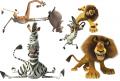 Стикери Мадагаскар 1-
