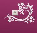 Декоративен стикер - Орнамент с цветя
