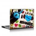 Скин за лаптоп - Музикални - 062