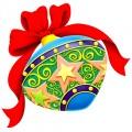 Коледа - коледна играчка- топка