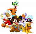 Стикери Мики Маус  - Мики Маус и приятели - Пирати