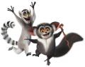 Стикери Мадагаскар - Крал Джулиан 2