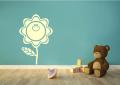 Декоративен стикер - Веселото цвете