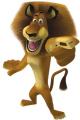 Стикери Мадагаскар - Алекс 3-