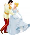 Стикер Пепеляшка и Принца