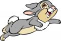 Стикери Бамби - Зайче 2
