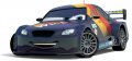 Стикер cars  Shu Todoroki - 52 -