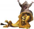 Стикери Мадагаскар - Алекс и Глория