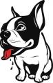 Декоративен стикер - Кучета - 0037