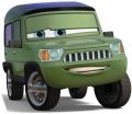 Стикер Cars - Miles Axlerod 49 -