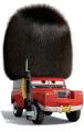 Стикер Cars -  сержант Хайгиър  -