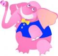 Серия смешни животни - слонче