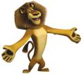 Стикери Мадагаскар - Алекс 7