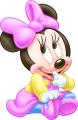 Стикер Мини Маус - бебе 1