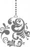 Декоративен стикер - Цветя -  Цветен полилей