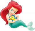 Стикер Малката русалка - Ариел 15-
