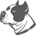 Декоративен стикер - Кучета - 006