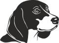 Декоративен стикер - Кучета - 009