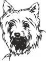 Декоративен стикер - Кучета - 0026
