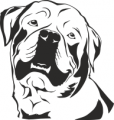 Декоративен стикер - Кучета - 0050