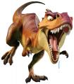 Стикер Ледена епоха  -  Динозавър-